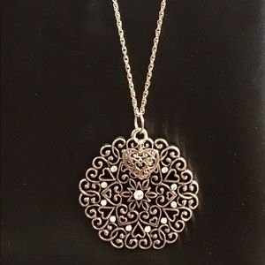 Jewelry - Medallion Heart Necklace